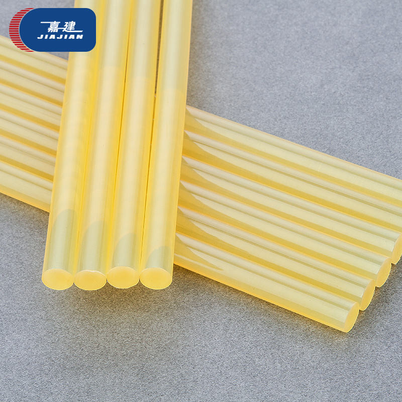 Silicone adhesive hot melt yellow glue stick for glue gun light yellow hot glue stick 7mm 11mm