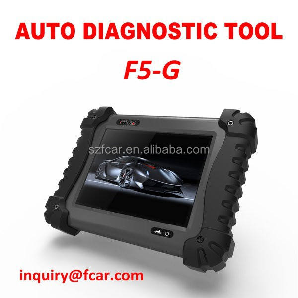 F5-g workshop reparatie tool, automotive diagnostische computer licht commerciële voor alle auto's