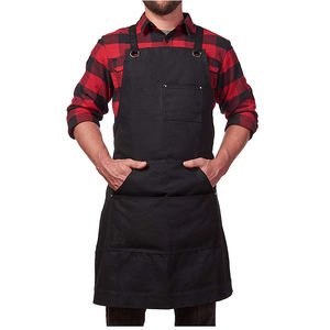 2019 New Arrival Wholesale Waxed Canvas Tool Apron custom print