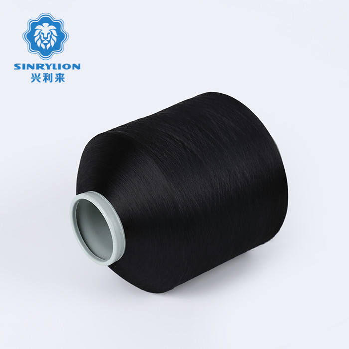 100%polyester recycled plastic recycle pet bottle yarn for weaving tablecloth