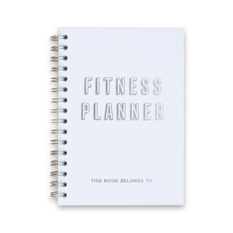 Wholesale Weekly Pu Leather Cover Custom Fitness Journal Printing