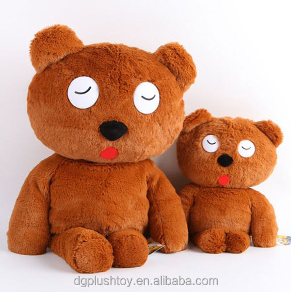 With Free Sample [ Bear Toy ] Bear Plush Toy Factory Plush Brown Teddy Bear Kids Custom Toy