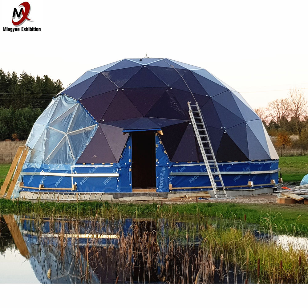 New design 6M 8M 10M eco PVC cover party tent dome tent with nice price from China
