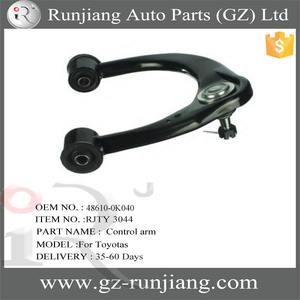 UPPER CONTROL GENUINE OEM TOYOTA ARM ASSY REAR RH 48770-60010