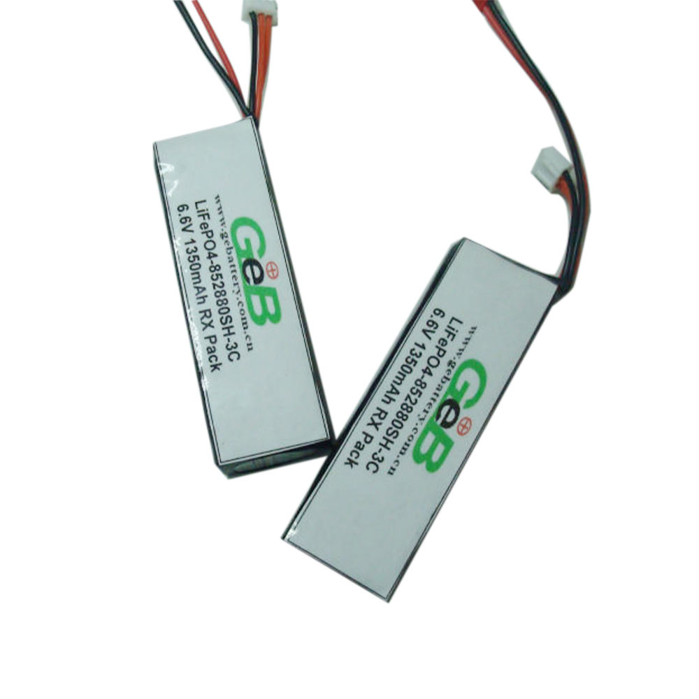 Pin lifepo4 2 S 6.6V1350mAh 3C 852880