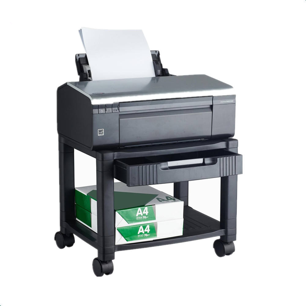 Packaging Customization Height Adjustable Mobile Printer Cart