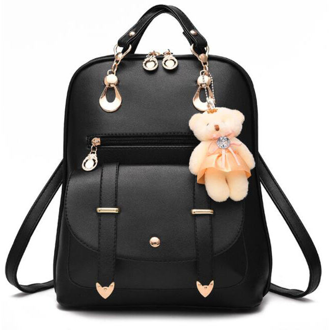 cz18041b Luxury backpack women bags designer cartoon pattern pu leather backpack