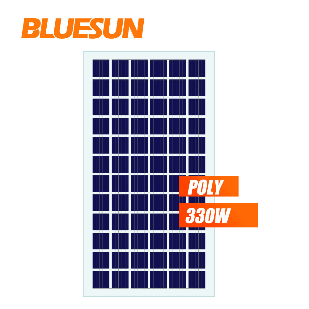 New Tech Bluesun Double Glass BIPV 310w 320w 330w Solar Module System for Buildings