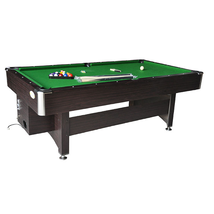 Factory directly selling 8 ball pool cheap coins operated pool tables