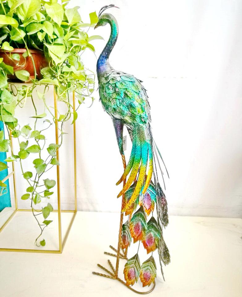 life size Peacock Decorative Items