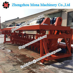 Horse waste compost turner/windrow waste turning machine/chicken waste turner, compost turning machine