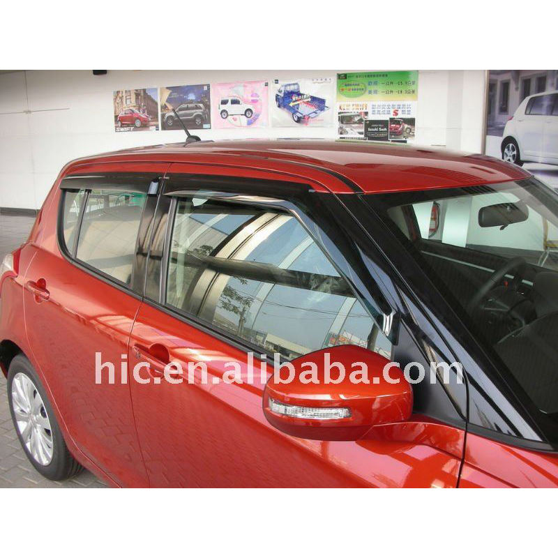 Door visor Window Deflectors Rain Visor Window Visors Vent Visor Rain Guard for Suzuki swift 2011