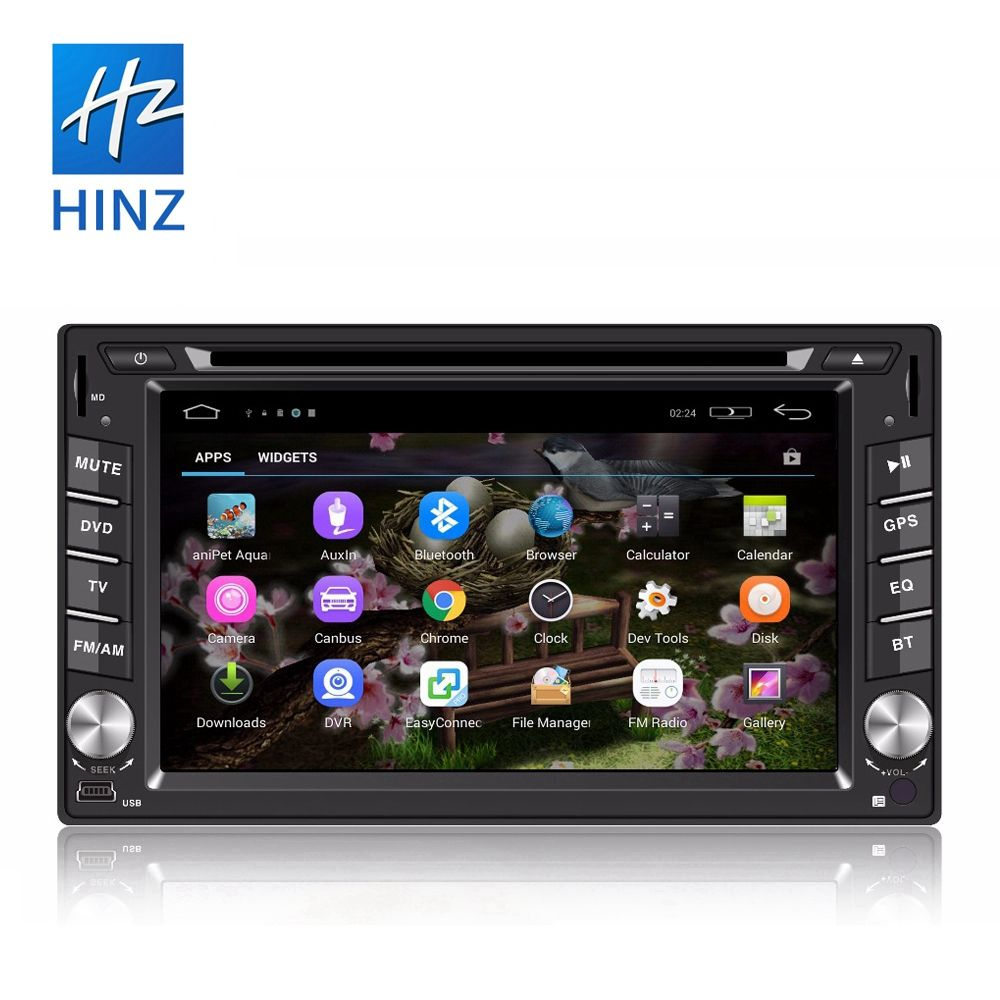 universal 2 din gps navigator car dvd player with touch screen ,gps,bluetooth,steer wheel control,fm radio