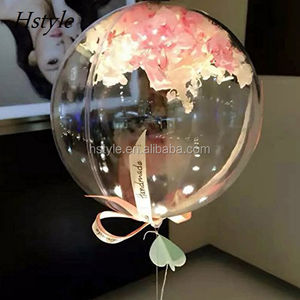 18inch (45cm) Clear Foil Helium Balloon Creative Bobo Balloons for Wedding Birthday Party Decorations SBR025