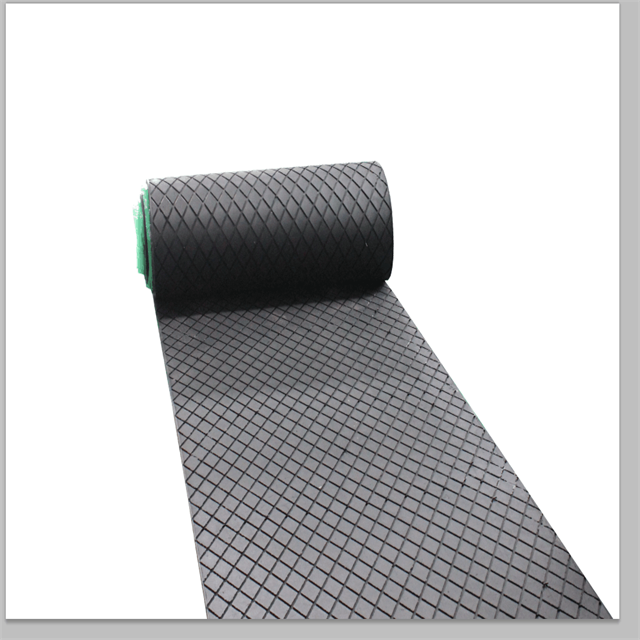 Diamond Pulley Lagging Rubber Sheet
