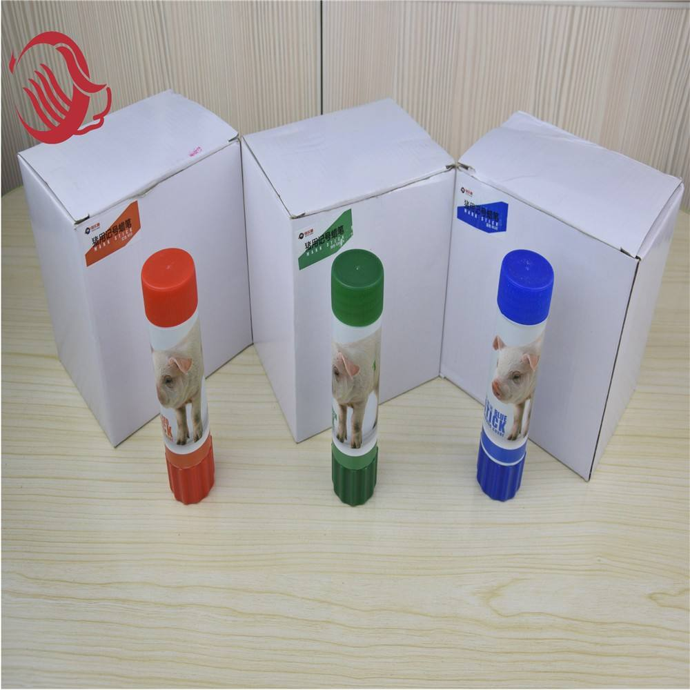 Veterinary large size small size Red, green and blue marking crayon