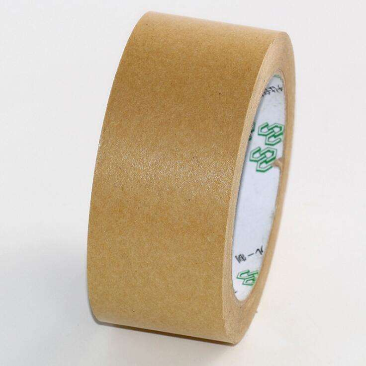 Biodegradable Reinforced Recyclable Kraft Craft Paper Tape With multiple widths