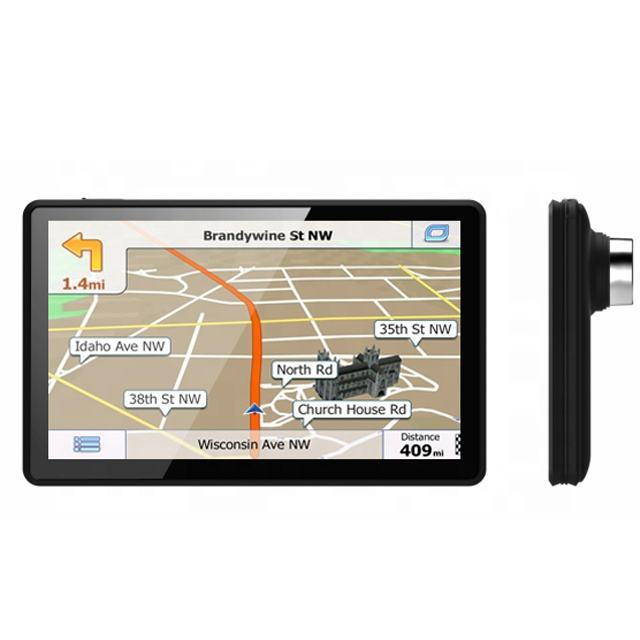 Wifi [ Bluetooth ] Gps Navigation 5'' Android Bluetooth FM WiFi AV-IN DVR Dash Cam GPS Navigation