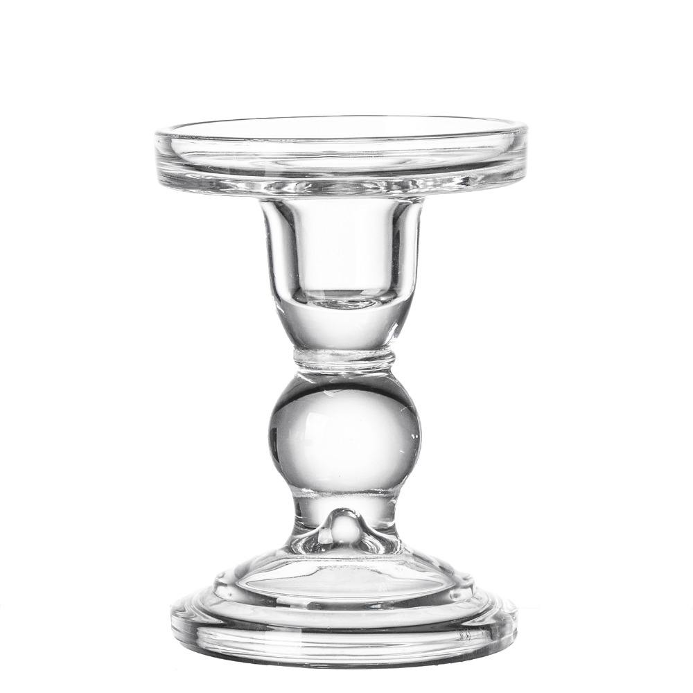 Hot Style Medium-size glass candle holder For wedding/Home/Restaurant