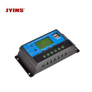 12V /24V/48V 10A/20A/30A Solar Controller Manual PWM Solar Charge Controller