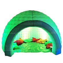 hot sale inflatable air dome/ inflatable dome tent with LED light for event