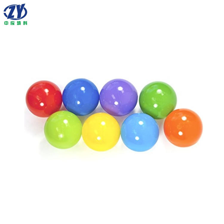 Excellent Quality Factory Sell crush proof soft ocean ball colored plastic balls