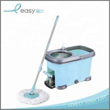 Household cleaning telescopic 360 floor cleaning mop pole with pedal