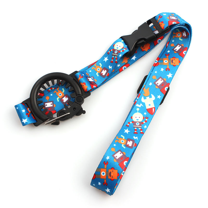 Sublimation adjustable cute water bottle holder neck strap lanyard