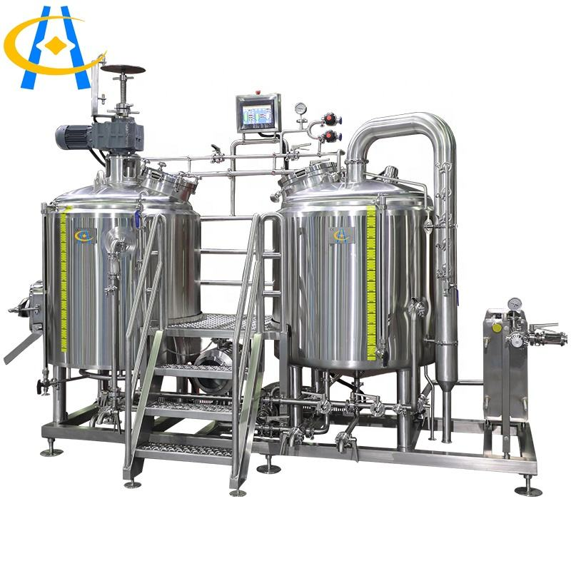 Hengcheng 2BBL craft beer brewery equipment automatic beer brewing system
