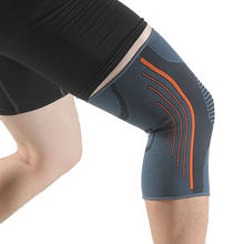 Fitness Running Cycling Knee Support Braces Elastic Nylon Silicon Compression knee sleeve