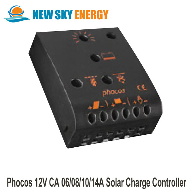 5 A, 12//24V, IP22, DEL Solar charge controller PHOCOS CML05