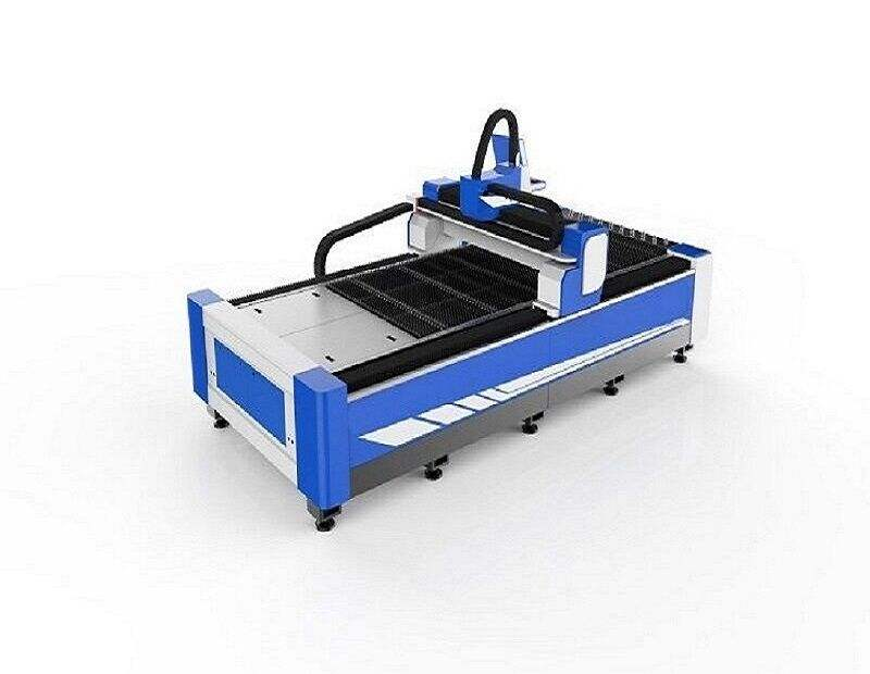 Germany beckoff system !BCJ1325 1KW Fiber laser cutting machine suitable price