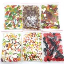 Different kinds mix flavor sweet soft jelly gummy candy factory