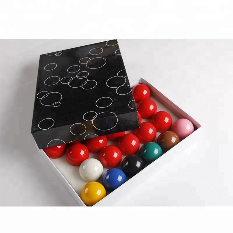 "Retail Billiard Snooker Balls Regulation Standard 2 1/16"" Full Set 22 Piece 5.25cm"