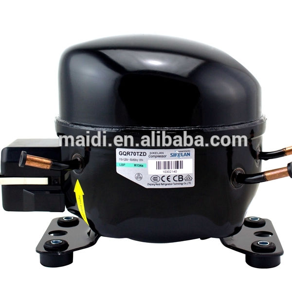 ice maker parts compressor MK-GQR70TZ R134a compressor MBP 455W