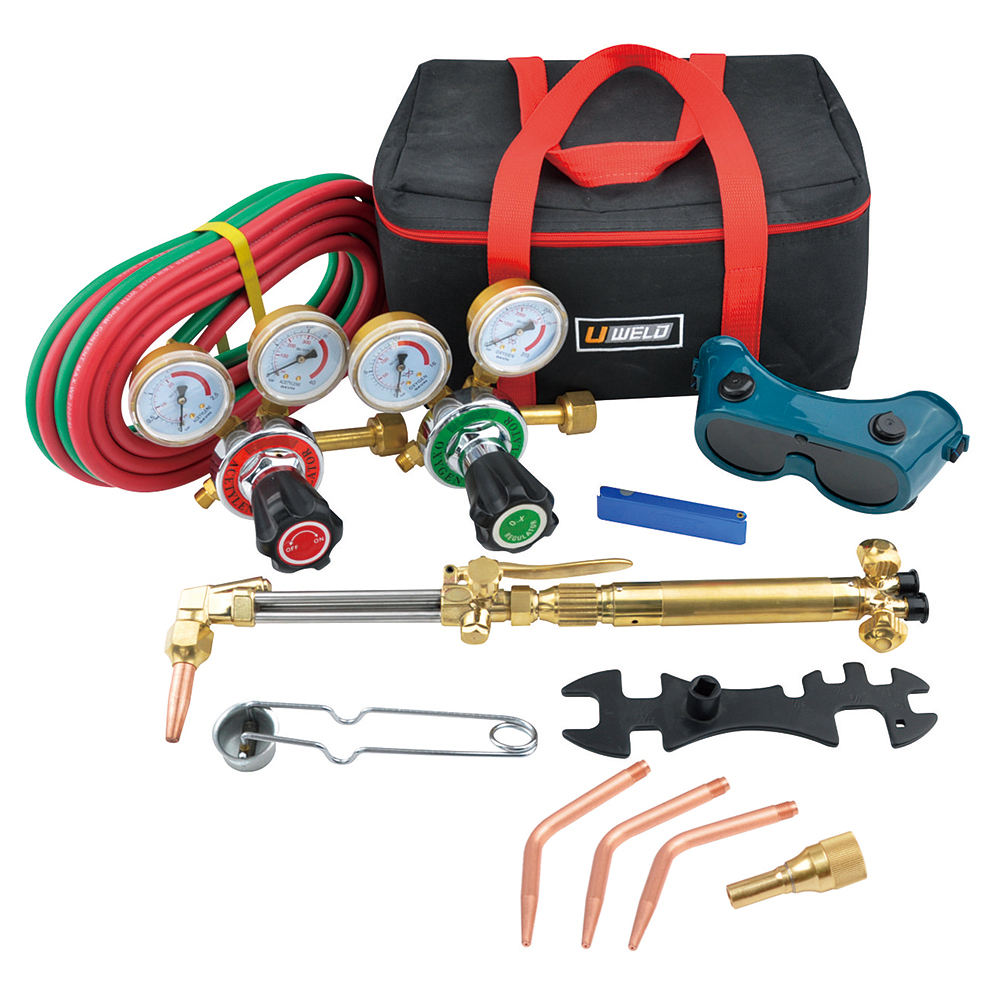 Portable welding tools cutting equipment welding kit