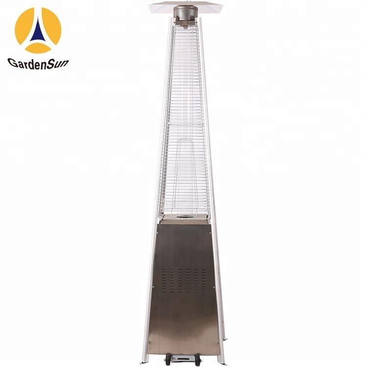 flame patio heater with fuel Propane Butane or their mixture