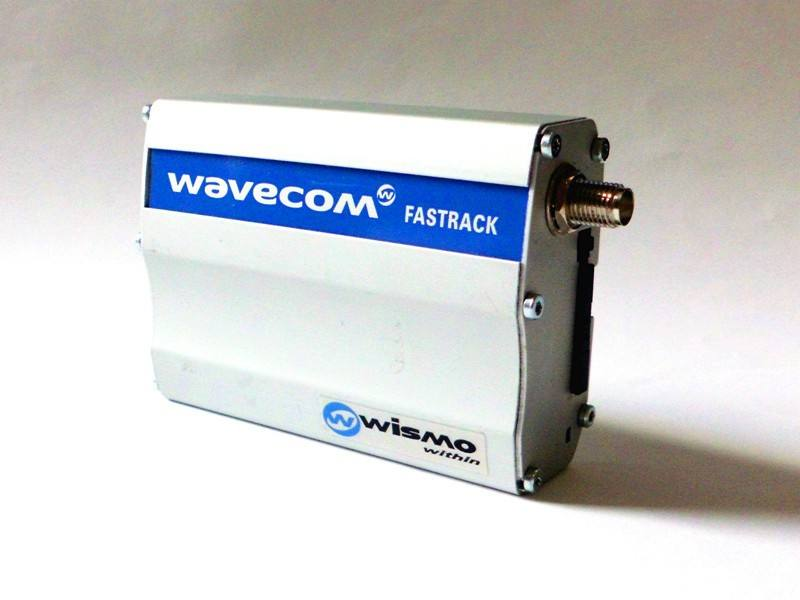 Wavecom fastrack modem supportTCP/IP GSM GPRS data transfer M1306B send sms modem