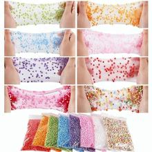 Bulk Customize Slime Foam Kit Accessories DIY Craft Foam Beads For Slime Making