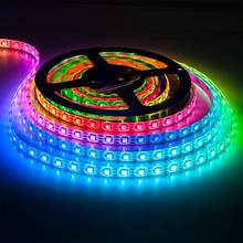 DC5V 30led 60led SK6812 individually addressable led light strip with Built-in IC