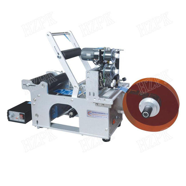 Ex-Factory Price Semi-auto Round Bottle Sticker Labeling Machine With Date code printer