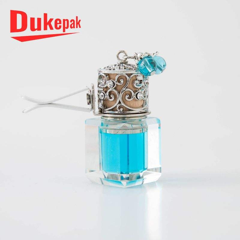 Fancy india small glass mini car perfume bottles