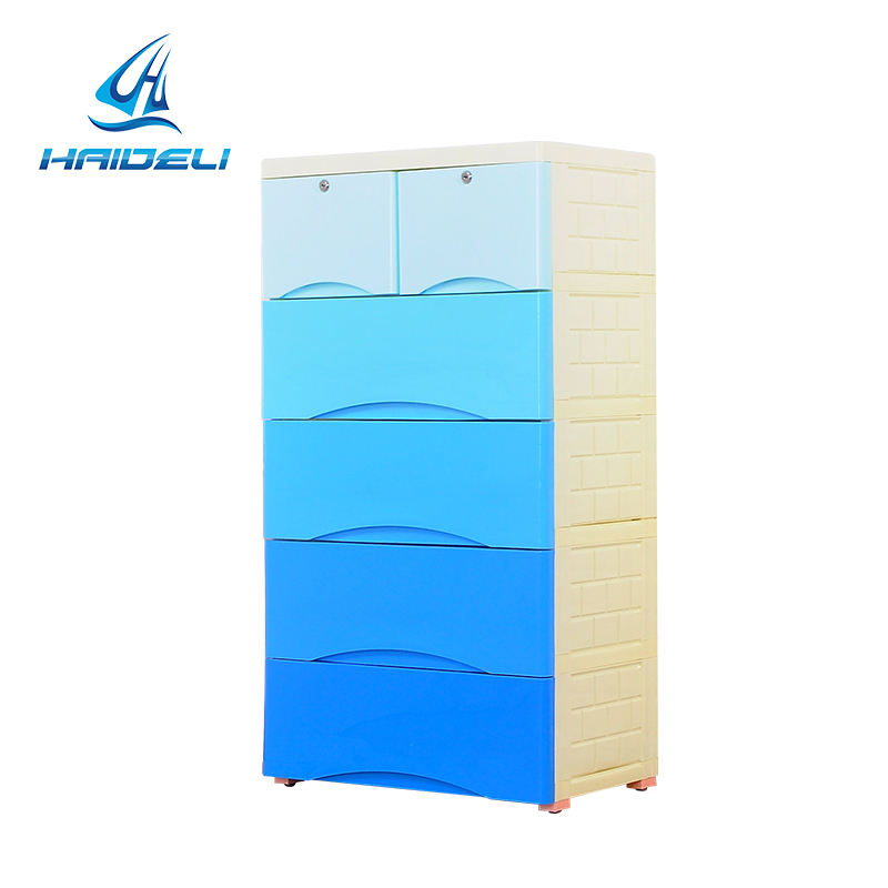 Plastic drawing storage cabinet with CE certificate