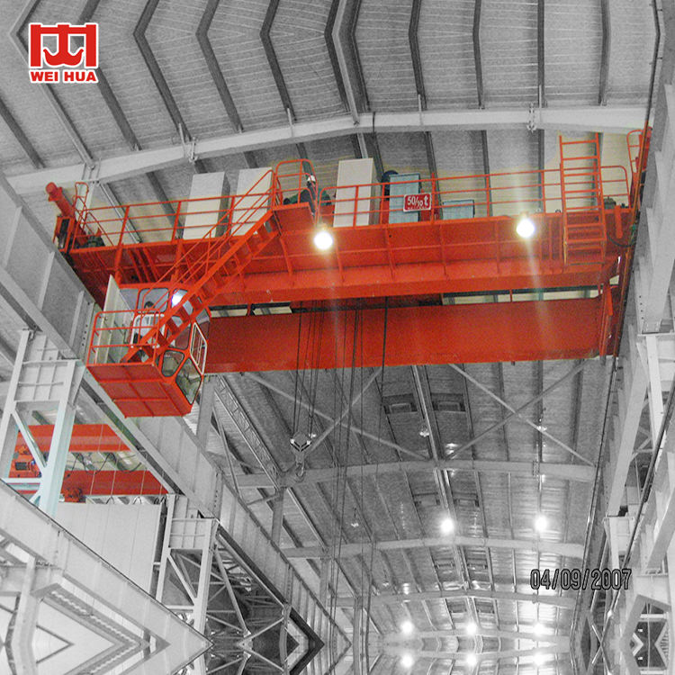 cheap cost operated 45 ton industrial overhead crane ceiling crane
