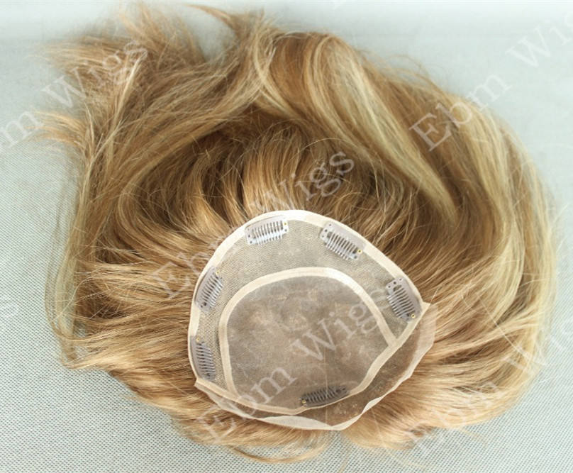 Qingdao Ebm Wig Co. Women Hairpieces Mono Lace Toppers