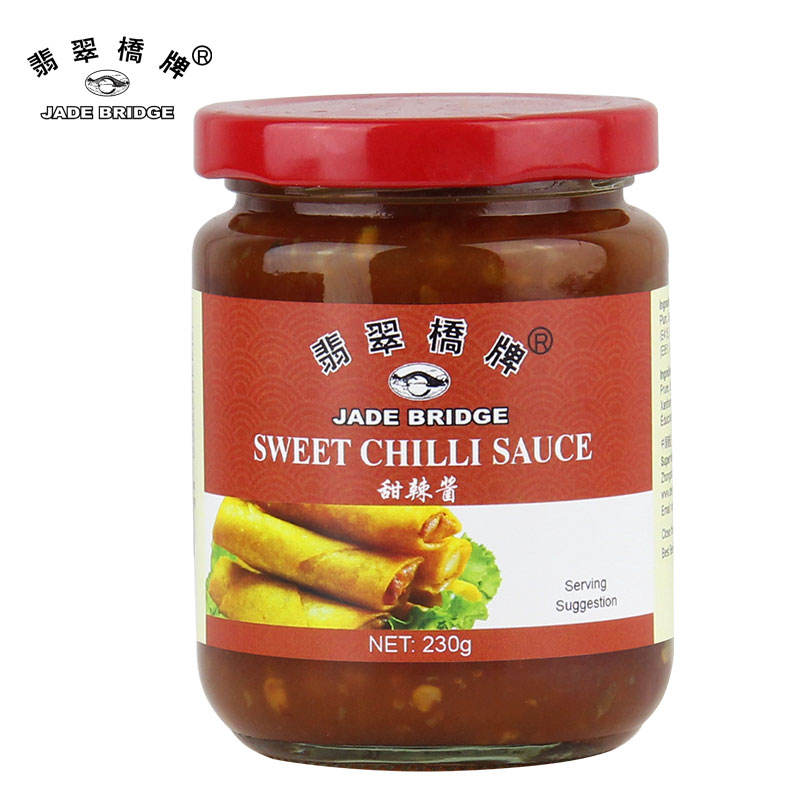 Traditional Jade Bridge Thai Style Sweet Chili Sauce for yummy recipes from Deslyfoods