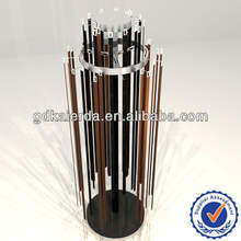 high-end round belt display stand,belt rack for shop furniture