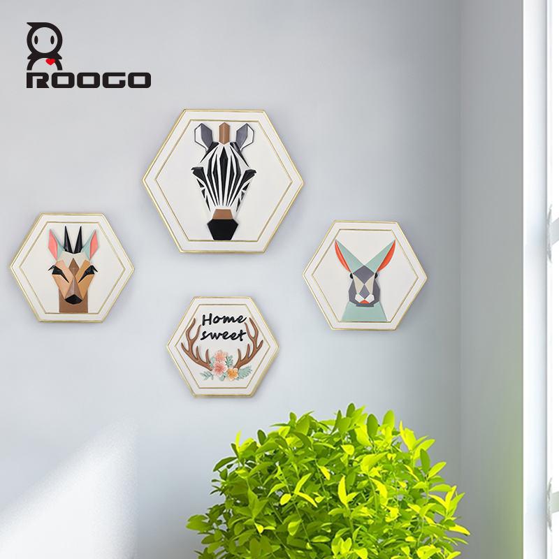 2017 ROOGO spécial art <span class=keywords><strong>Bois</strong></span> tenture décorations