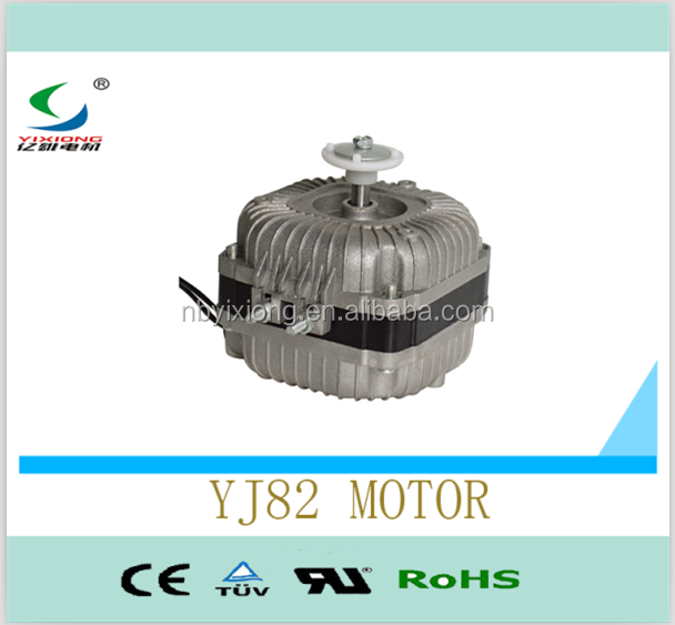 Copper wire condenser fan motor used on refrigerator