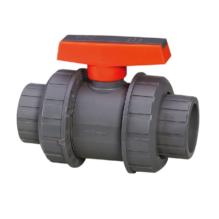 ERA Factory Supply PVC True Union Ball Valve for PN10 pvc pipe and fitting PVC valve